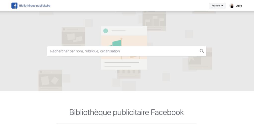 BibliothequePublicitaireFacebook