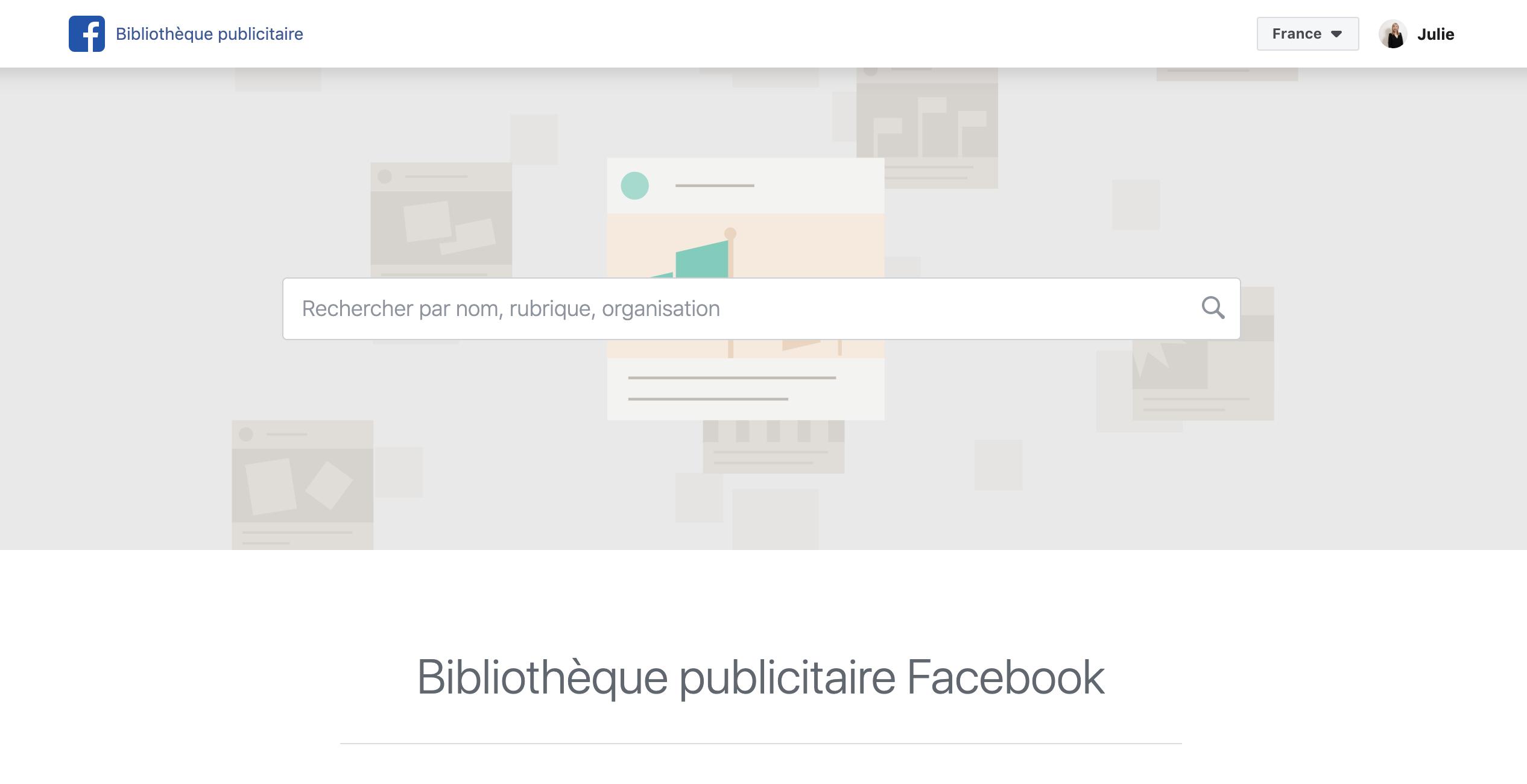 Quelle est la stratégie Facebook Ads utilisée par vos concurrents ?
