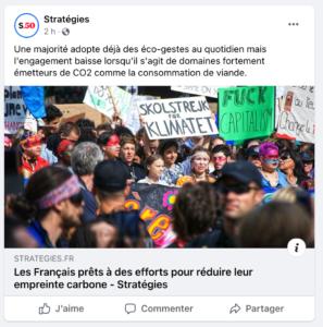 Publication Facebook Stratégies